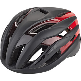 MET Trenta MIPS Kask, black/shaded red